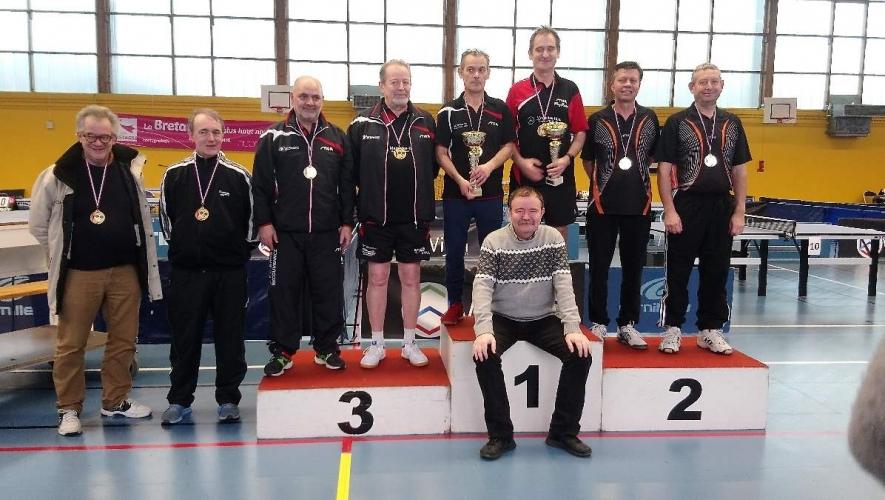 Vice champion de Bretagne V2